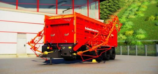 Photo of FS19 – Rapide 8400 Windrower & Loading Wagon V1