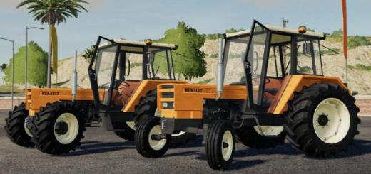 Photo of FS19 – Renault 7X1S Et 7X1-4S Tractor V1