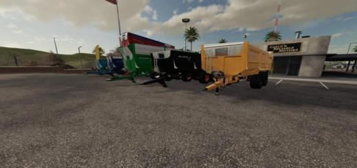Photo of FS19 – Rolland Line Trailer V1