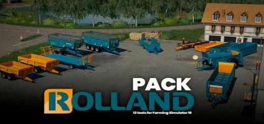 Photo of FS19 – Rolland Pack V1.0.0.2