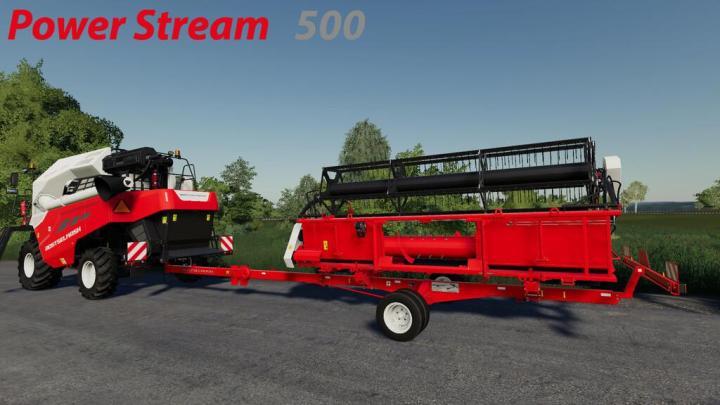 FS19 - Rostselmash Uni Cart 3000 V1