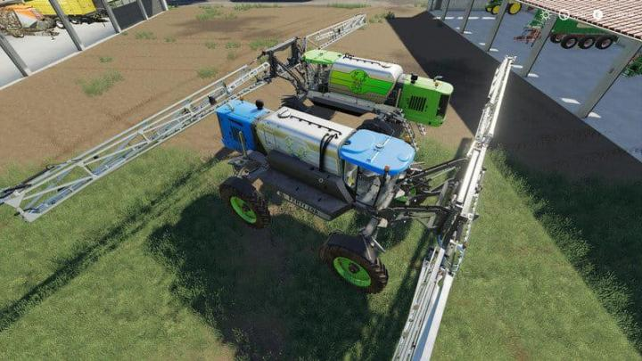 FS19 - Rubicon Set By Mh / Fertilizer And Poison V1.1