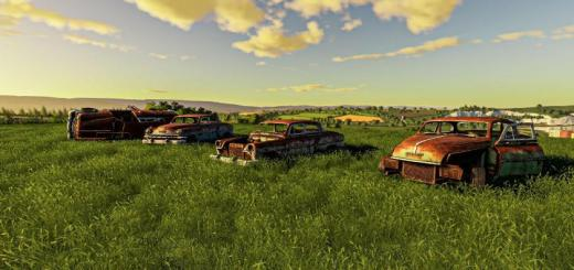 Photo of FS19 – Rusty Cars Collection V1