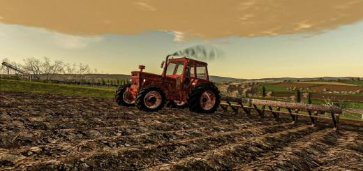 Photo of FS19 – Rusty Tractor With Old Plow V1