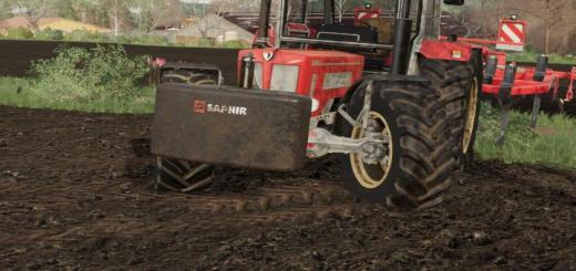 Photo of FS19 – Saphir Top Weight Pack V1