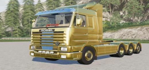 Photo of FS19 – Scania 143M 500 4-Axis Hooklift