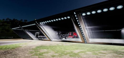 Photo of FS19 – Sci-Fi Shed V1