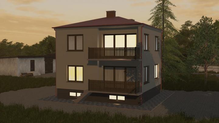 FS19 - Square House V1