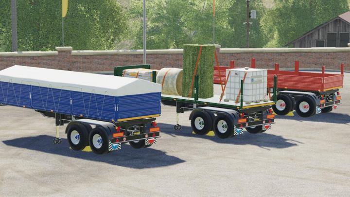 FS19 - Tfsim Semitrailer V1.0.0.1