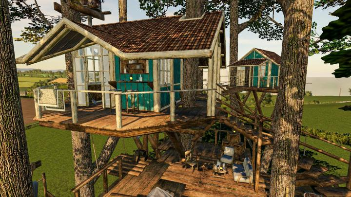 FS19 - Tree House V1