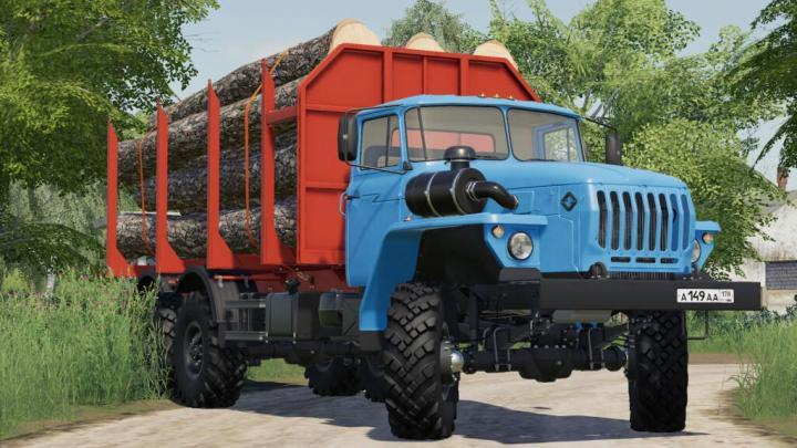FS19 - Ural 4320-60 Ust-5453 V1
