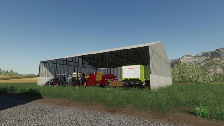 FS19 - Vehicle Storage V1