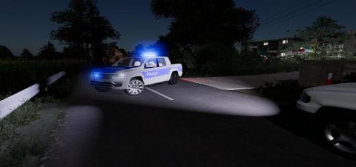Photo of FS19 – Volkswagen Amarok Radiowoz Policji V2