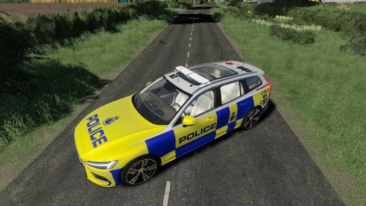 FS19 - Volvo V60 Uk Police V1