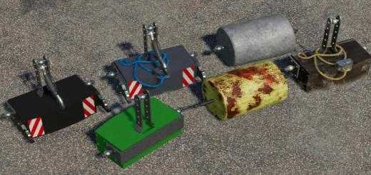 Photo of FS19 – Weight Pack 500-750 Kg V1.1