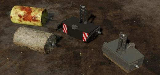Photo of FS19 – Weight Pack V1