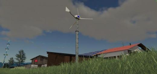 Photo of FS19 – Wind Turbine Windmaker 12000 V1