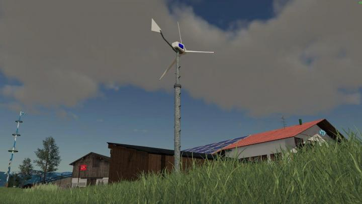 FS19 - Wind Turbine Windmaker 12000 V1