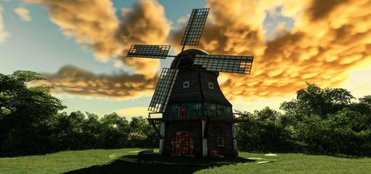 Photo of FS19 – Windmill V1