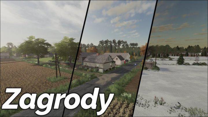 FS19 - Zagrody Map V1