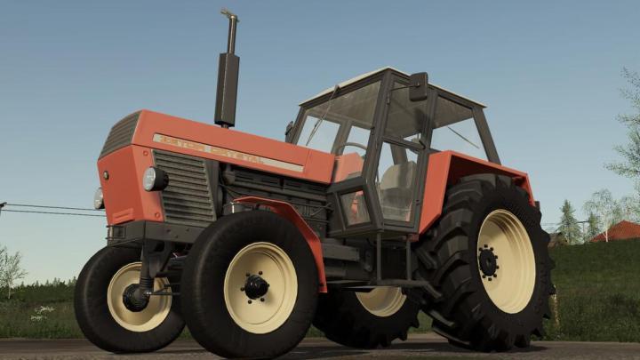 FS19 - Zetor Crystal 12011 Tractor V1