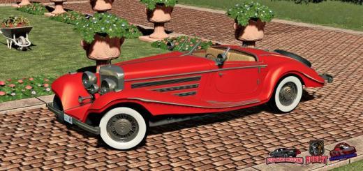Photo of FS19 – 1936 Mercedes-Benz 540K Fixed V1.1