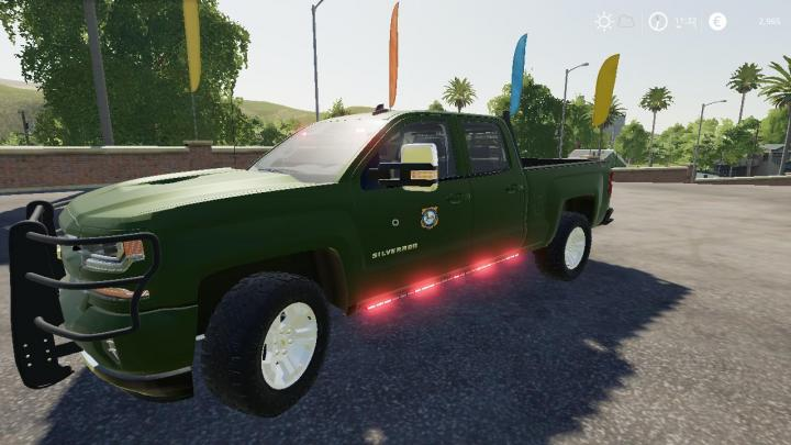 FS19 - 2016 Chevy Silverado Game Warden V5