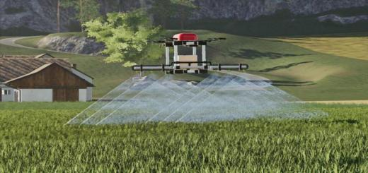 Photo of FS19 – Agricultural Drone V1