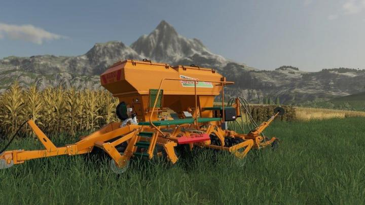 FS19 - Agromasz Salvis 3800 Plus Planter V1
