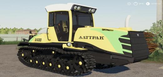 Photo of FS19 – Altrak A-600 V1.1