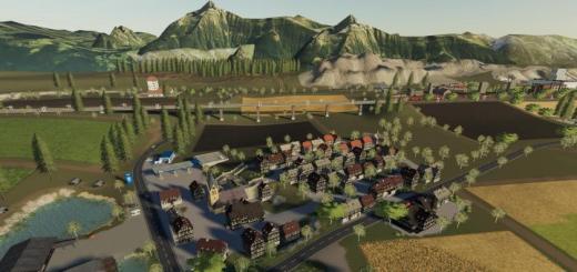 Photo of FS19 – Ammergauer Alpen Map V1.1.5