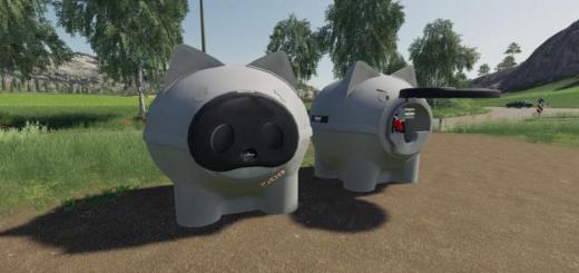 Photo of FS19 – Animal Fuel Tanks V1