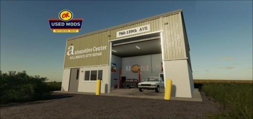 Photo of FS19 – Automotive Center – Local Garage With Workshop V1