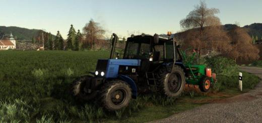 Photo of FS19 – Belarus 821 Blue Tractor