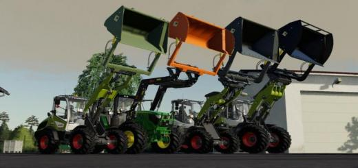 Photo of FS19 – Bressel And Lade High Tip Shovel Pack V1