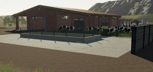Photo of FS19 – Brick Shed Pack Italian Style V1.1