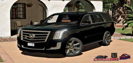 Photo of FS19 – Cadillac Escalade Esv Platinum V1