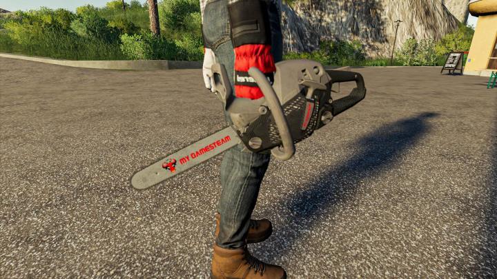 FS19 - Carbon Chainsaw V1