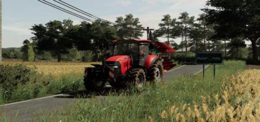 Photo of FS19 – Case Farmall 105U Tractor V1