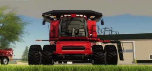 Photo of FS19 – Case Ih 230 Afs Static Tank V1