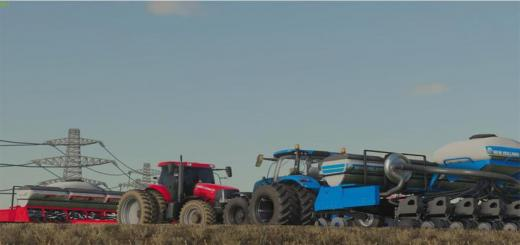 Photo of FS19 – Case Ih Easy Rise And New Holland Pl5015 V1