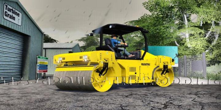 FS19 - Caterpillar Cb44 Kiloutou V2
