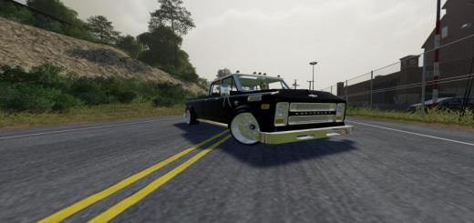Photo of FS19 – Chevy C50 Custom Slammed V1