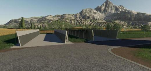 Photo of FS19 – Concrete Bunker Set V V1.0.0.1