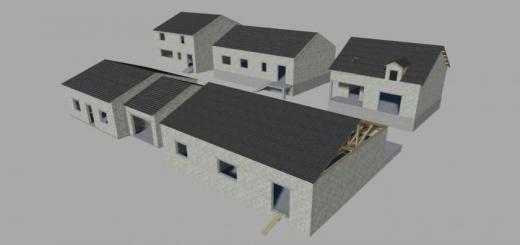 Photo of FS19 – Constructions Houses Prefab V1