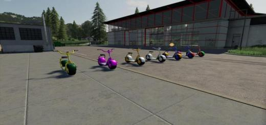 Photo of FS19 – Electric Scooter V1