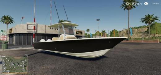 Photo of FS19 – Everglade Boat V1.0.6.9