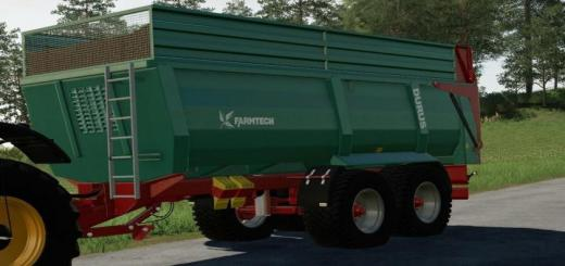Photo of FS19 – Farmtech Durus 2000 Trailer V2