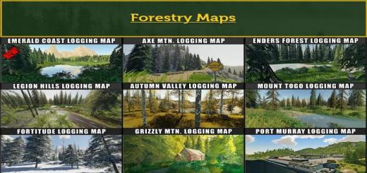 Photo of FS19 – Fdr Logging Mods Pack October – 2020 V1
