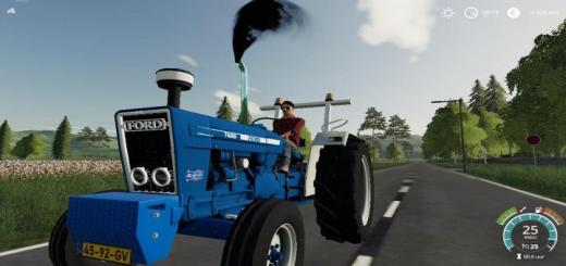 Photo of FS19 – Ford 7600 Tractor V1